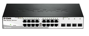 D-Link DGS-1210-20 16-Port Gigabit Smart Switch