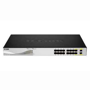D-Link DXS-1100-16SC 14 Port 10 Gigabit Smart Switch