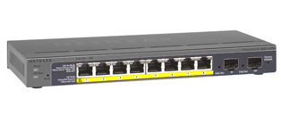 Netgear GS110TP 8-Port Gigabit PoE Smart ProSAFE Switch