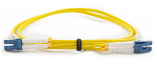 CE LC - LC Connector Singlemode Duplex Fibre Patch Leads