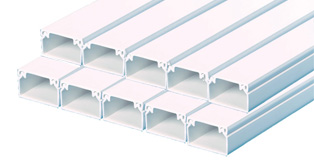 25 x 38mm PVC Trunking (10 x 3mts)