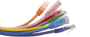 Cat5e RJ45 Ethernet Cable/Patch Leads - Booted