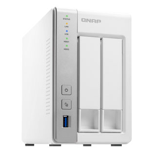 QNAP TS-231P2-4G 2-Bay NAS with 4GB DDR3 RAM