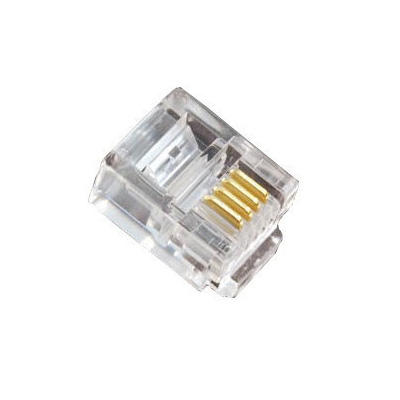 RJ11 4 Position Plug (pack of 100)