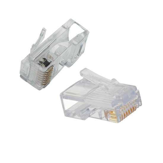 RJ45 UTP Cat5e 8 Way Plug Connector