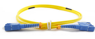 SC - SC Connector Singlemode Duplex Fibre Patch Leads