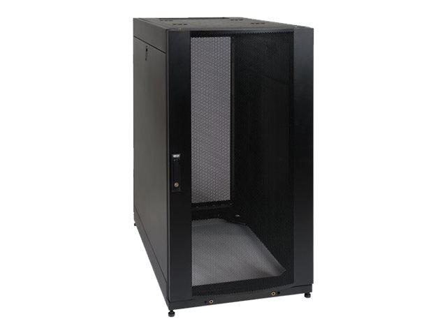 Tripp Lite 25U SmartRack Standard-Depth Server Rack Enclosure Cabinet with doors & side panels