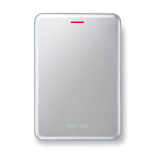Buffalo MiniStation SSD Velocity 480GB Portable, Silver