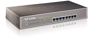 TP-Link TL SG1008 8-Port Gigabit Unmanaged Rackmount Switch