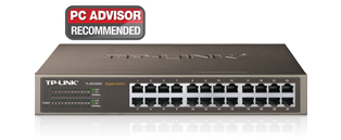 TP-Link TL SG1024D 24-Port Gigabit Unmanaged Network Switch