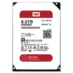 WD WD80EFAX Red 8TB 128MB 3 5 Inch SATA Hard Drive