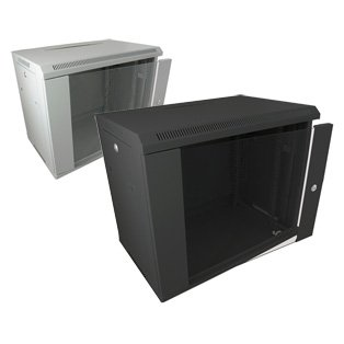 Datacel 9u Wall Mounted Data Cabinet/Data Rack 390mm Deep