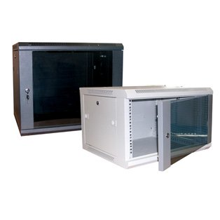 Datacel 18u Wall Mounted Data Cabinet/Data Rack 390mm Deep