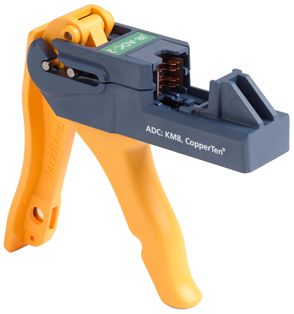 Fluke Networks JackRapid Termination Tool (FOR ADC C6a CopperTen® UTP RJ45 jack and the C6 TrueNet®