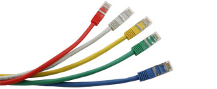 Cat5e RJ45 Ethernet Cable/Patch Leads - Shielded