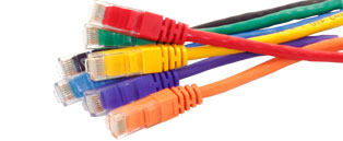 Cat6 RJ45 Ethernet Cable/Patch Leads - Booted