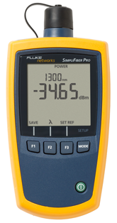 Fluke Networks SimpliFiber Pro Optical Power Meter