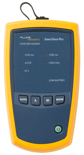 Fluke Networks SimpliFiber Pro Singlemode Source 1310/1550nm