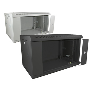 Datacel 6u Wall Mounted Data Cabinet/Data Rack 390mm Deep