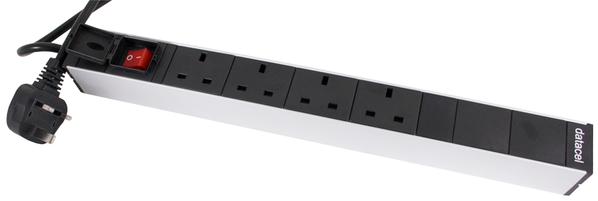 PDU with UK 13Amp Plug Sockets