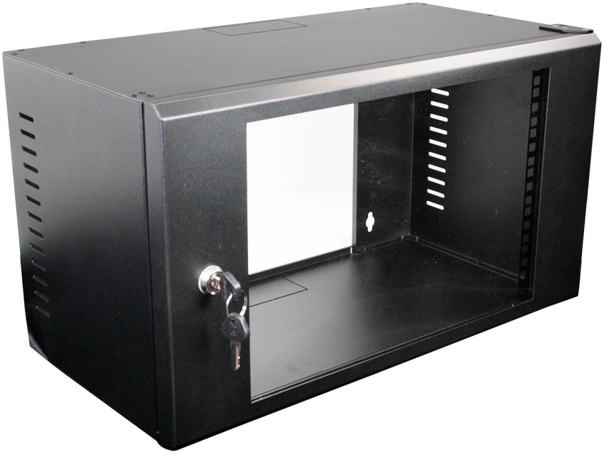 Datacel 6u 275mm Deep Wall Mounted Patching Cabinet
