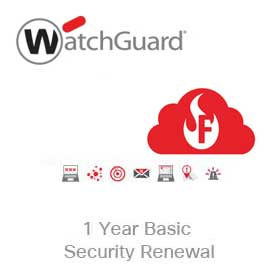 WatchGuard Basic Security Suite Renewal/Upgrade for Firebox Cloud Small
