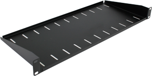 200mm Deep Front Mounting Modem Shelf (1u)