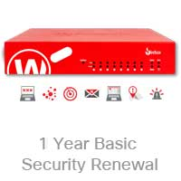 WatchGuard Basic Security Suite Renewal/Upgrade for Firebox T55W