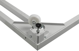 Usystems 4210 Load Bearing Castors & Plates (Set of 4) (Load bearing 500Kg)