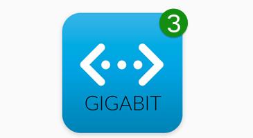 ubiquiti gigabit connectivity
