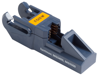 Fluke Networks JackRapid Replacement Blade Head (For Systimax MGS400,MGS500, MFP420, MFP520)
