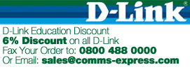 6% Discount on D-Link for Education