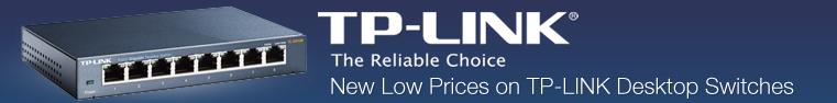 New low prices on TP-Link Desktop Switches