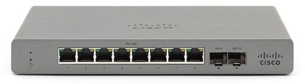 Meraki GO 8 Port Managed Network Switch