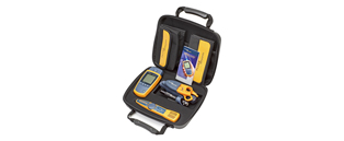 MicroScanner2 Termination Test Kit, includes MicroScanner2 Cable Verifier, IntelliTone Pro 200 Probe, IS60 Pro-Tool Kit, and a deluxe carrying case.