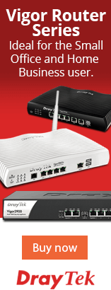 Vigor Router Series. Ideal for the Small Office and Home Business user. Buy now.
