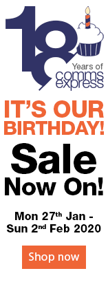 Its Our Birthday. Sale Now On. Mon 27th Jan - Sun 2nd Feb 2020.