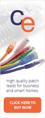 High quality rj45 patch leads for business and smart homes from CE.