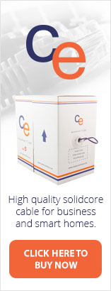 High quality solidcore cable for business and smart homes from CE.