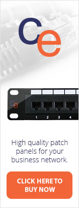 High quality patch panels for business and smart homes from CE.