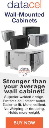 DataCell Wall Cabinets - Stronger than your average cabinet!