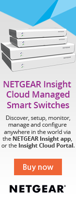 NETGEAR Insight Cloud Managed Smart Switches - Discover, setup, monitor and configure anywhere in the world via the NETGEAR Insight app,  or the Insight Cloud Portal - Buy now
