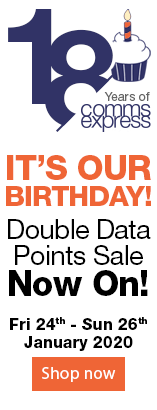 Its Our Birthday. Double Data Points Sale NOW ON. Fri 24th - Sun 26th January 2020 - Shop now