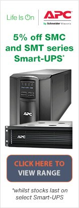 Save 5% off select APC SMC and SMT Smart-UPS power protection