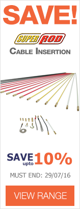 Save up to 10% on Super Rod cable insertion kits