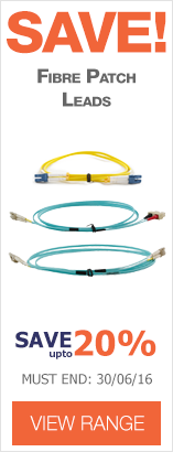 Save up to 20% on CE Fibre Patch Leads