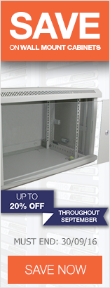 Save up to 20% on Wall Mount Cabinets