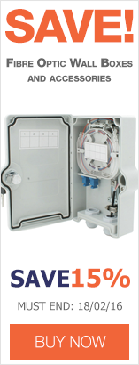 Save up to 15% on Fibre Optic Wall Boxes