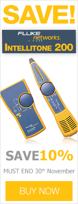 Save 10% on Fluke Intellitone 200 LAN Toner and Probe Kit