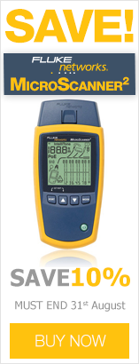 Save 10% on Fluke MicroScanner2 Cable Verifiers